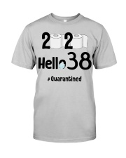 38th Birthday 38 Years Old Classic T-Shirt front