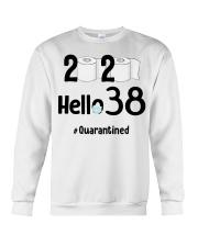 38th Birthday 38 Years Old Crewneck Sweatshirt thumbnail