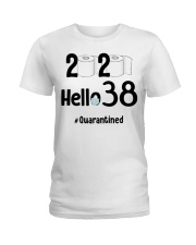 38th Birthday 38 Years Old Ladies T-Shirt thumbnail