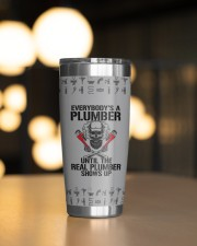 Plumber- Personalized Christmas Gift 20oz Tumbler aos-20oz-tumbler-lifestyle-front-04