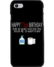 71st Birthday 71 Year Old Phone Case tile
