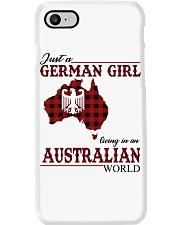 Just A German Girl In Australian World Phone Case thumbnail