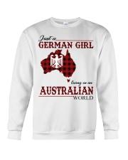 Just A German Girl In Australian World Crewneck Sweatshirt thumbnail