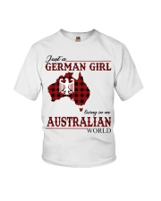 Just A German Girl In Australian World Youth T-Shirt thumbnail