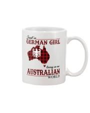 Just A German Girl In Australian World Mug thumbnail