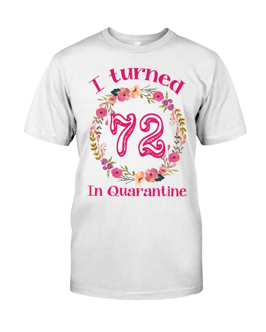 72nd Birthday 72 Years Old Classic T-Shirt