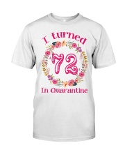 72nd Birthday 72 Years Old Classic T-Shirt front