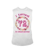72nd Birthday 72 Years Old Sleeveless Tee thumbnail