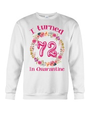 72nd Birthday 72 Years Old Crewneck Sweatshirt thumbnail