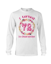 72nd Birthday 72 Years Old Long Sleeve Tee thumbnail