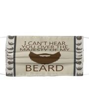Beard Mask Cloth face mask front