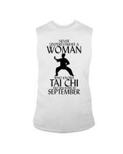Never Underestimate Woman Tai Chi September  Sleeveless Tee thumbnail