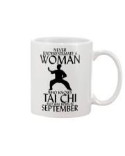 Never Underestimate Woman Tai Chi September  Mug thumbnail