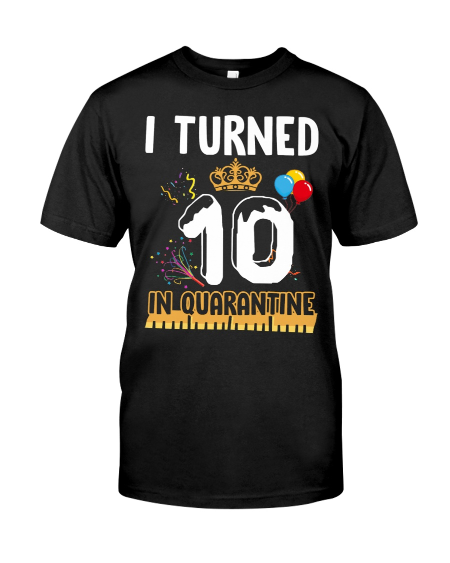 10th Birthday 10 Years Old Classic T-Shirt