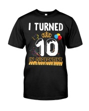 10th Birthday 10 Years Old Classic T-Shirt front