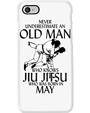 Never Underestimate Old Man Jiu Jitsu May Phone Case thumbnail