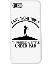 Golf Can't Work Today Phone Case thumbnail