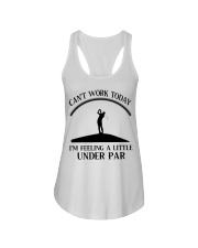 Golf Can't Work Today Ladies Flowy Tank thumbnail