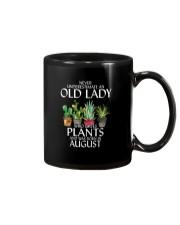 Never Underestimate Old Lady Love Plants August Mug thumbnail