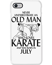 Never Underestimate Old Man Karate July Phone Case thumbnail