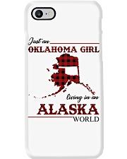 Oklahoma Girl Living In Alaska Phone Case thumbnail