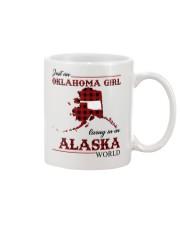 Oklahoma Girl Living In Alaska Mug thumbnail