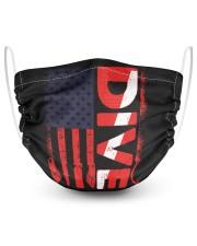 Scuba Diving 2 Layer Face Mask - Single front