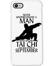 Never Underestimate Man Tai Chi September Phone Case tile