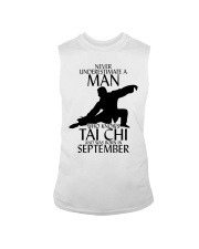 Never Underestimate Man Tai Chi September Sleeveless Tee tile