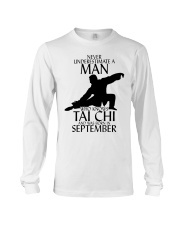 Never Underestimate Man Tai Chi September Long Sleeve Tee tile