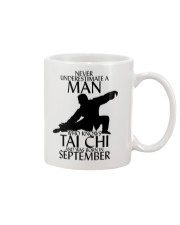 Never Underestimate Man Tai Chi September Mug tile
