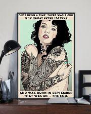 September Girl-Tattoos 24x36 Poster lifestyle-poster-2