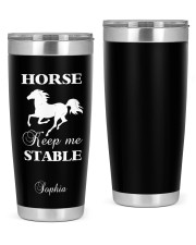 Horse Personalized Christmas Gift 20oz Tumbler front
