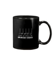 Life Is Full Of Important Choices Mug thumbnail