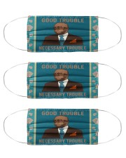 good trouble necessary trouble Cloth Face Mask - 3 Pack front