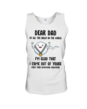 Of All The Ball In The World Unisex Tank thumbnail