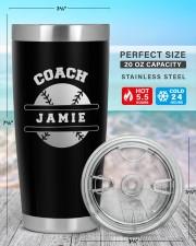 Baseball Coach Personalized Christmas Gift 20oz Tumbler aos-20oz-tumbler-lifestyle-front-47