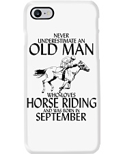 Old Man Horse Riding September Phone Case thumbnail
