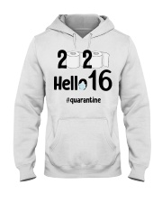 16th Birthday 16 Years Old Hooded Sweatshirt thumbnail