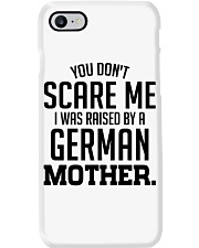 I Was Raise By A German Mother Phone Case tile