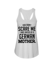 I Was Raise By A German Mother Ladies Flowy Tank tile