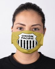 Union Pacific Railroad Cloth face mask aos-face-mask-lifestyle-01