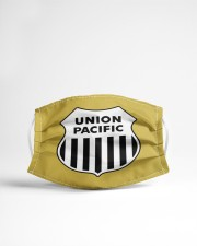Union Pacific Railroad Cloth face mask aos-face-mask-lifestyle-22