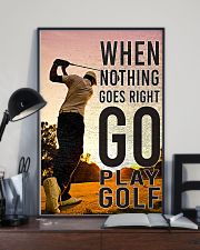 When Nothing Goes Right Go Play Golf 24x36 Poster lifestyle-poster-2