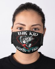 Funny kids fishing lover fish lovers Cloth face mask aos-face-mask-lifestyle-01
