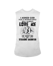 I Asked God For A Woman Who Will Love Me Sleeveless Tee thumbnail