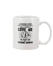 I Asked God For A Woman Who Will Love Me Mug thumbnail