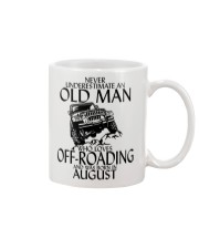 Never Underestimate Old Man Off-roading August Mug thumbnail