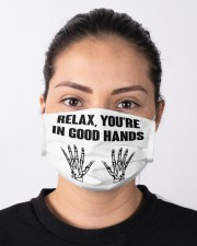 Relax You're In Good Hands Cloth face mask aos-face-mask-lifestyle-01