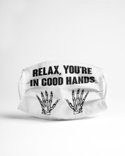 Relax You're In Good Hands Cloth face mask aos-face-mask-lifestyle-22